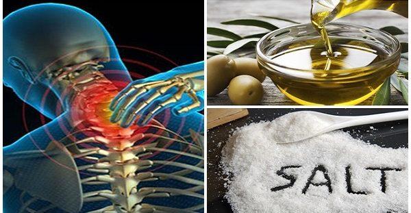 Ανακατέψτε λίγο αλάτι και ελαιόλαδο και δεν θα αισθανθείτε πόνο για τα επόμενα 5 χρόνια!