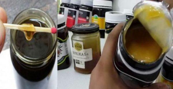Παντού πουλάνε ΝΟΘΕΥΜΕΝΟ Μέλι, Δείτε πως θα Καταλάβετε τη Διαφορά με ΑΥΤΟ το απλό Κόλπο