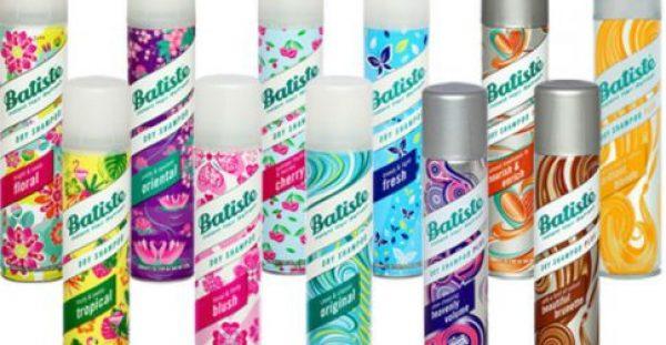 Batiste Dry Shampoo, για όμορφα και καθαρά μαλλιά κάθε μέρα! Τώρα σε ακόμα μεγαλύτερη ποικιλία!