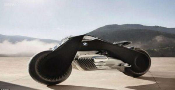 Έρχεται η φουτουριστική μηχανή της BMW που δεν πέφτει ποτέ