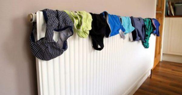 Στεγνώνετε τα ρούχα μέσα στο σπίτι; Δείτε από τι κινδυνεύετε