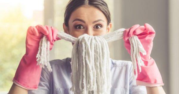 7 Βήματα για να Καθαρίσετε το Σπίτι σας σε Λιγότερο από 30 Λεπτά