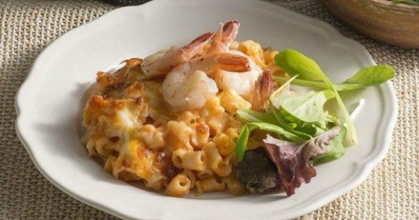 Να πώς θα Φτιάξετε Mac 'n' Cheese με Γαρίδες! Είναι πανεύκολο..