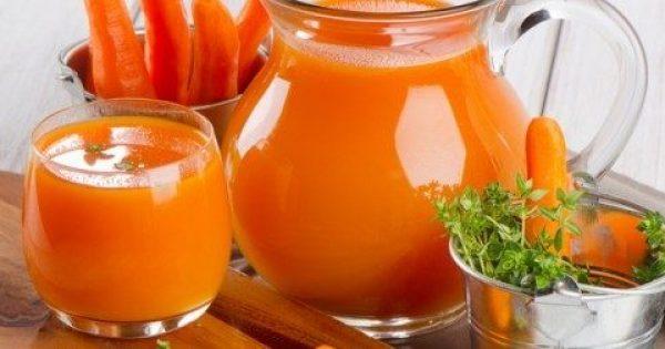 Έπινε χυμό καρότο κάθε μέρα για 8 μήνες! Απίστευτη αλλαγή!