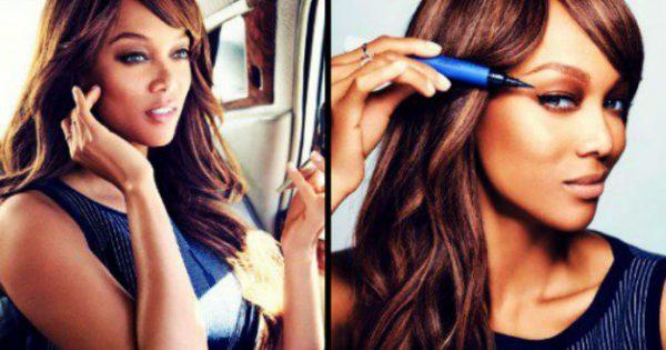 Θες το μακιγιάζ της Tyra Banks; Ακολούθησε τις οδηγίες και  το αποκτήσεις εύκολα!