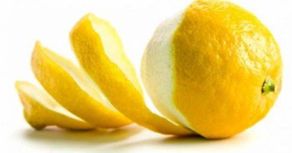 Μην πετάτε ποτέ τις φλούδες λεμονιού! ΔΕΙΤΕ γιατί !!