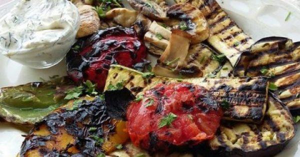 Σαλάτα από ψητά λαχανικά !!!