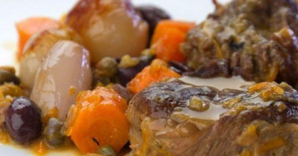 Μοσχαράκι με λαχανικά & σάλτσα λαχανικών!!!