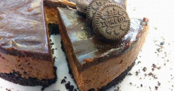 Cheesecake με πραλίνα Σοκολάτας !!!