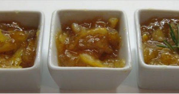 Γλυκό κουταλιού λεμόνι σε τρεις παραλλαγές !!!