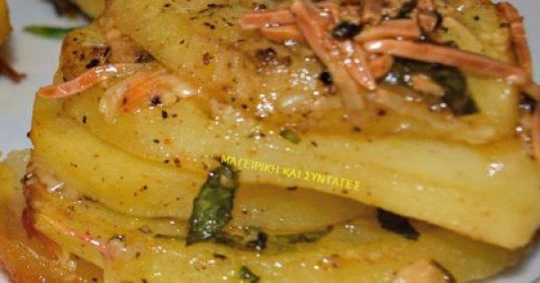 Πατάτες στο φούρνο –αλλοιώς ..!!!