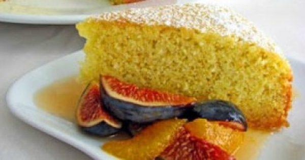 Κέικ με Ελαιόλαδο & Καλαμποκάλευρο!!!
