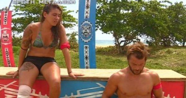 Αποκλειστικά στιγμιότυπα από το αποψινό επεισόδιο του Survivor στο ατομικό αγώνισμα