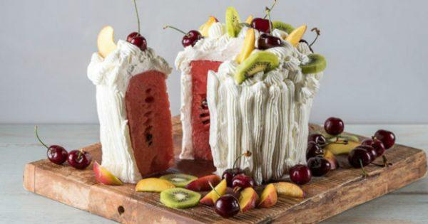 Τούρτα Καρπούζι: Το πιο Καλοκαιρινό Γλυκό