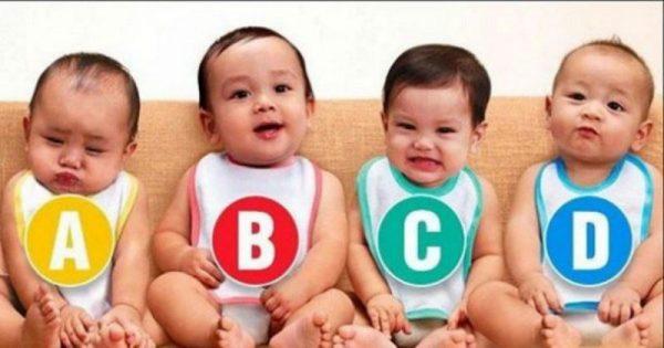 Ποιό από τα μωρά είναι κορίτσι; Απίστευτο τεστ που αποκαλύπτει ενδιαφέροντα στοιχεία για την προσωπικότητά σας!!!