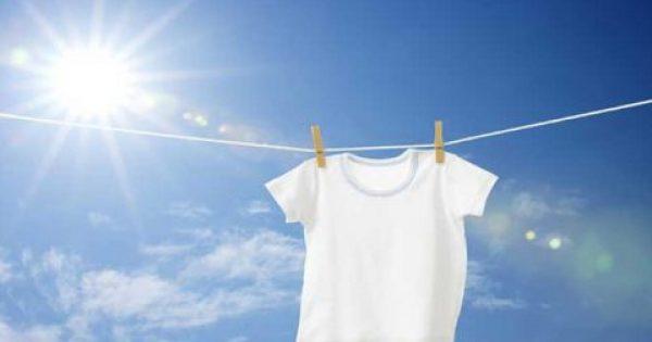 Με 2 σταγόνες από αυτό το μείγμα κάντε τα ρούχα σας πιο λευκά από ποτέ!