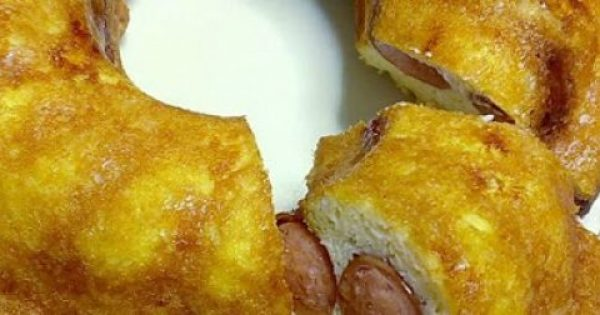 Oμελέτα φούρνου με λουκάνικο και τυρί !!!