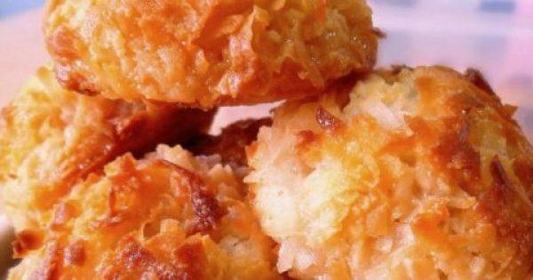 Απίθανο γλυκό με καρύδα -Macarons !!!