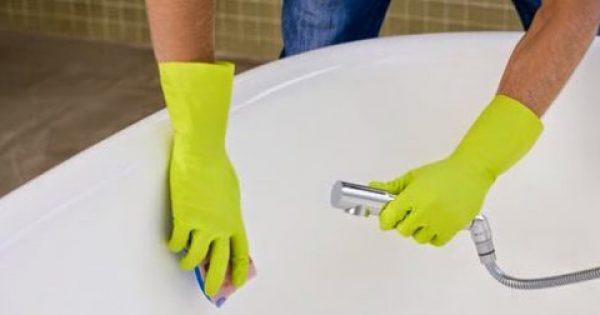 Κάνε τη μπανιέρα σου να αστράφτει…