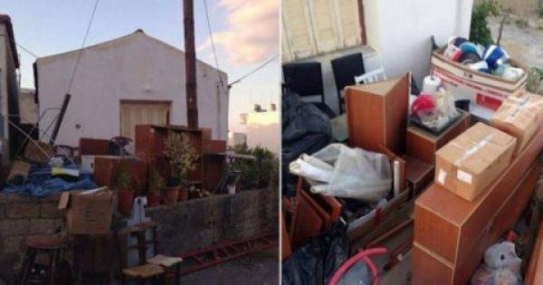 Πέταξαν τρίτεκνη οικογένεια Κρητικών στο δρόμο – Οι δυο γονείς άνεργοι και η σύζυγος με πρόβλημα υγείας