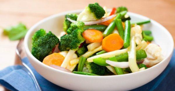 Να τι θα Συμβεί στο Σώμα σας Όταν Αποφασίσετε να Τρώτε Όσα Λαχανικά Πρέπει!