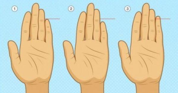 Παρατηρήστε Καλά Το Μικρό Σας Δάχτυλο. Δεν Φαντάζεστε ΤΙ Φανερώνει Για Την Προσωπικότητά Σας!