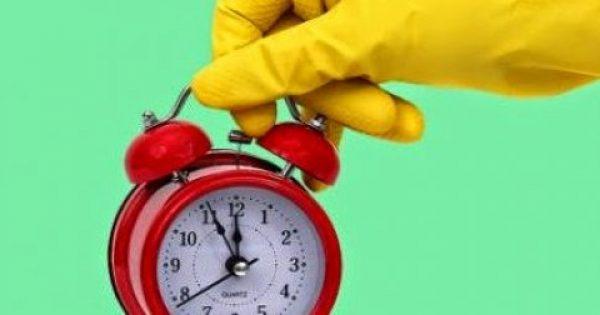 7 δουλειές του σπιτιού που μπορείτε να κάνετε σε 1 ώρα