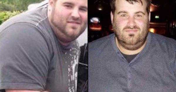 Αποφάσισε να χάσει 80 κιλά επειδή τον απατούσε η κοπέλα του [Εικόνες]