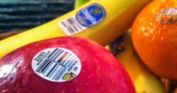 Δείτε τι δε ξέρετε για τις ετικέτες που υπάρχουν στα φρούτα…και θα μείνετε με το στόμα ανοιχτό!