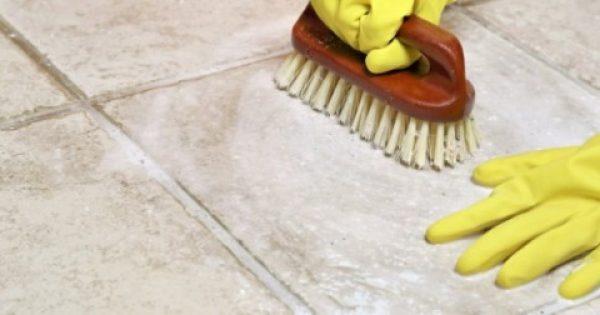 Πώς να καθαρίσετε τα πλακάκια! Δεν θέλει κόπο, θέλει τρόπο!!!