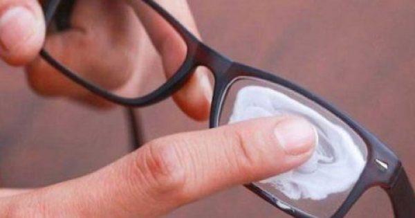 Έτσι θα «διώξεις» τις γρατζουνιές από τους φακούς των γυαλιών σου