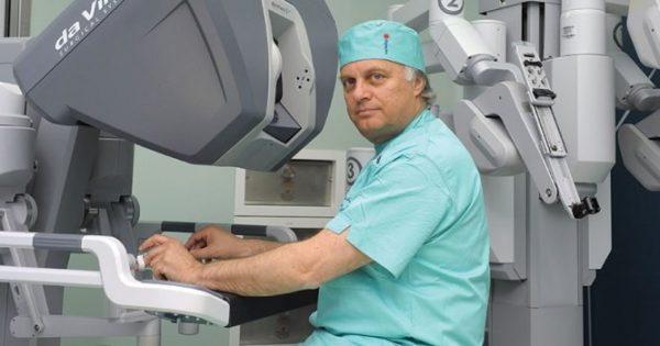 Ρομποτική ηπατεκτομή για πρώτη φορά στην Ελλάδα