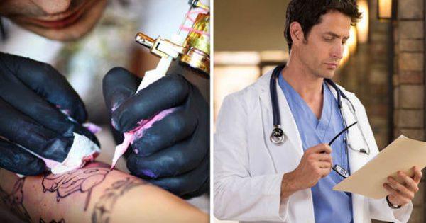 Κίνδυνος από τα τατουάζ: Σωματίδια χρωστικής φτάνουν στους λεμφαδένες! [vid]