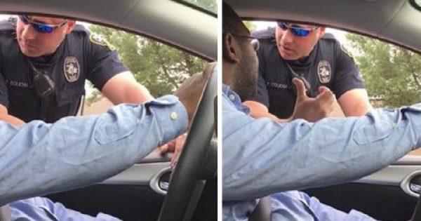 Άνδρας οδηγούσε μαζί με τη γυναίκα του όταν η αστυνομία του έκανε νόημα να σταματήσει. Όταν έμαθε το λόγο του κόπηκαν τα πόδια