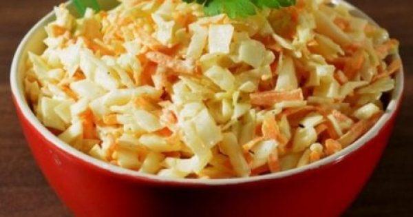 4 Συνταγές για λαχανοσαλάτα και όλα τα διατροφικά μυστικά για το λάχανο