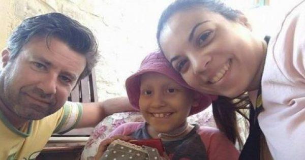 Οι γονείς της μικρής Ευαγγελίας δώρισαν τα χρήματα για τη θεραπεία της