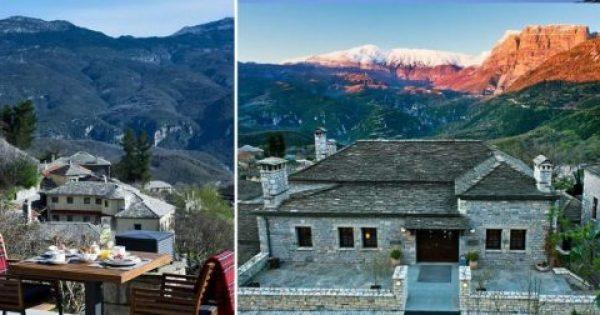 Ένα ελληνικό ξενοδοχείο στην Ήπειρο διεκδικεί την κορυφή του κόσμου