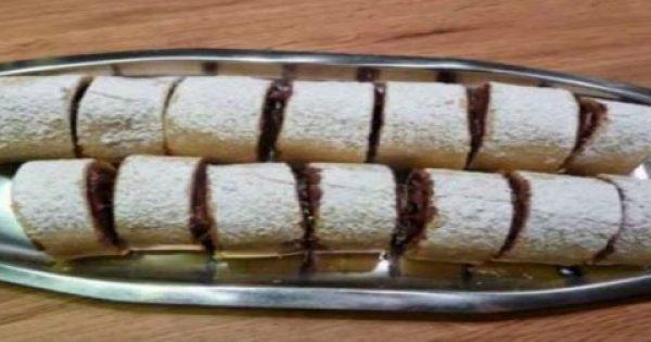 Εύκολη και γρήγορη συνταγή Ρολό με Μερέντα ή αν προτιμάτε με μαρμελάδα!