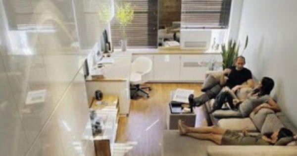 Ένα εντυπωσιακά άνετο διαμέρισμα μόλις… 46 τ.μ.