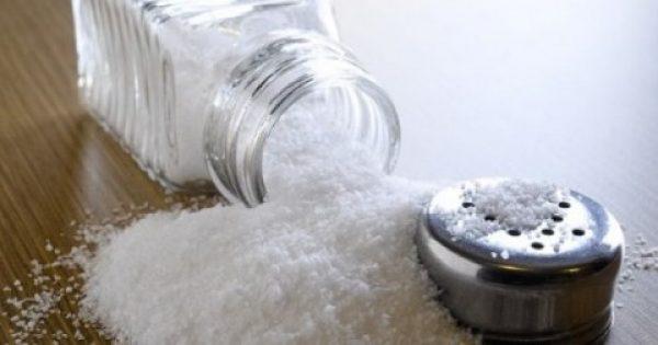 Αστραφτερό καθάρισμα μόνο με… αλάτι; Και όμως, γίνεται!
