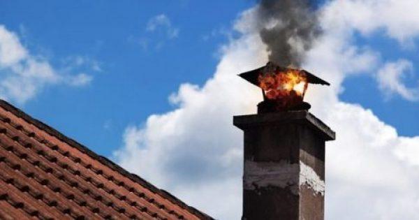 Πώς μπορεί να προκληθεί φωτιά στην καμινάδα;