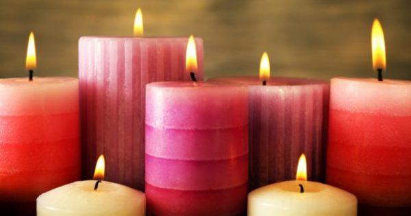 7 Κόλπα για να Διαρκούν τα Κεριά σας Περισσότερο και να Βγάζουν Καλύτερη Φλόγα