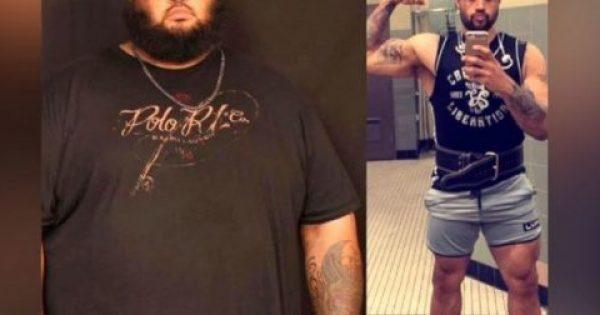 Αδυνάτισμα: Με έναν τρόπο-έμπνευση έχασε το μισό του βάρος – Δείτε πώς! [vid]
