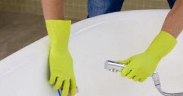 Εξαφανίστε τη σκουριά από το μπάνιο με δύο απλές συνταγές
