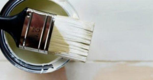 Τι κάνω για να ξεμυρίσει το σπίτι μετά το βάψιμο;