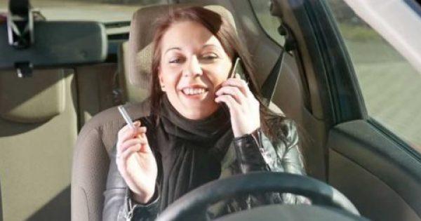 Μιλάς στο κινητό, πετάς τσιγάρο; – Αφαίρεση διπλώματος