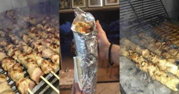"""Αυτό είναι το καλύτερο """"καλαμάκι"""" της Αθήνας – Κανείς δεν ξέρει την μυστική συνταγή του εκτός από τον """"Χρηστάρα""""…"""
