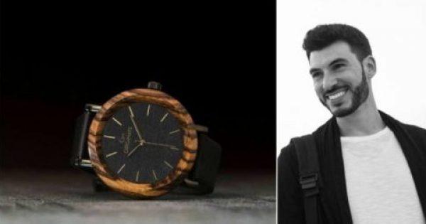 Γιώργος Γαλούνης: Ο Μυκονιάτης που φτιάχνει απίθανα ρολόγια από θαλασσόξυλα