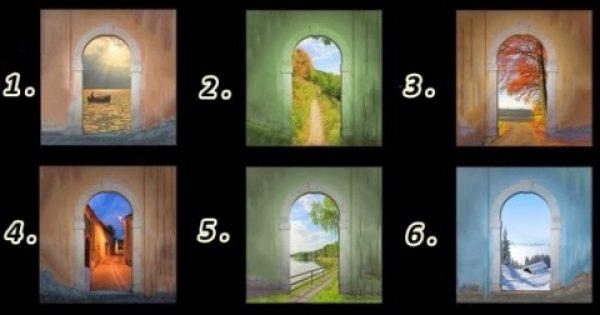 Κάνε το τεστ προσωπικότητας… Εσύ ποια πόρτα θα επέλεγες;