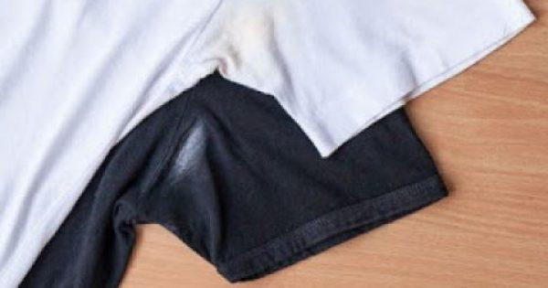 Σημάδια αποσμητικού στα ρούχα σου; Εξαφάνισε τα με αυτόν τον έξυπνο τρόπο